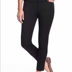 Old Navy Black Pixie Pants